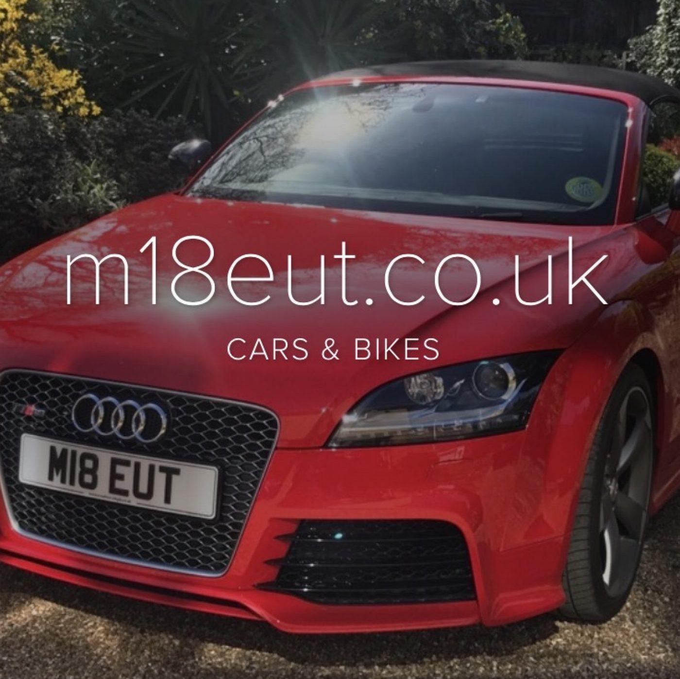 Geoff's car site, M18EUT